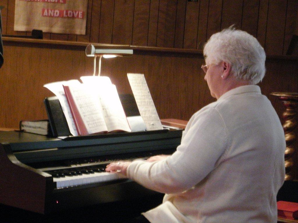 resident pianist
