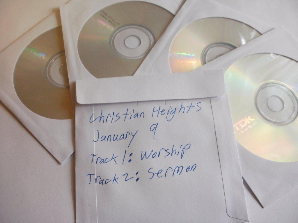 Sermons on Disk