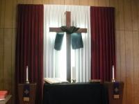 the cross in Lent